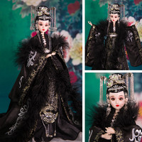 Free Shipping High end Girl Dolls 12 Handmade Chinese Princess Doll Bjd Dolls Classic Toys For Girl Best Wedding Gifts 357