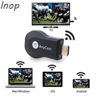 LNOP AnyCast M2 Artı Airplay 1080 P Kablosuz WiFi Ekran TV Dongle Alıcı HDMI TV Sopa DLNA Miracast windows için/iOS/Andriod