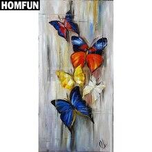 HOMFUN 5D Diy Diamond Painting Cross Stitch
