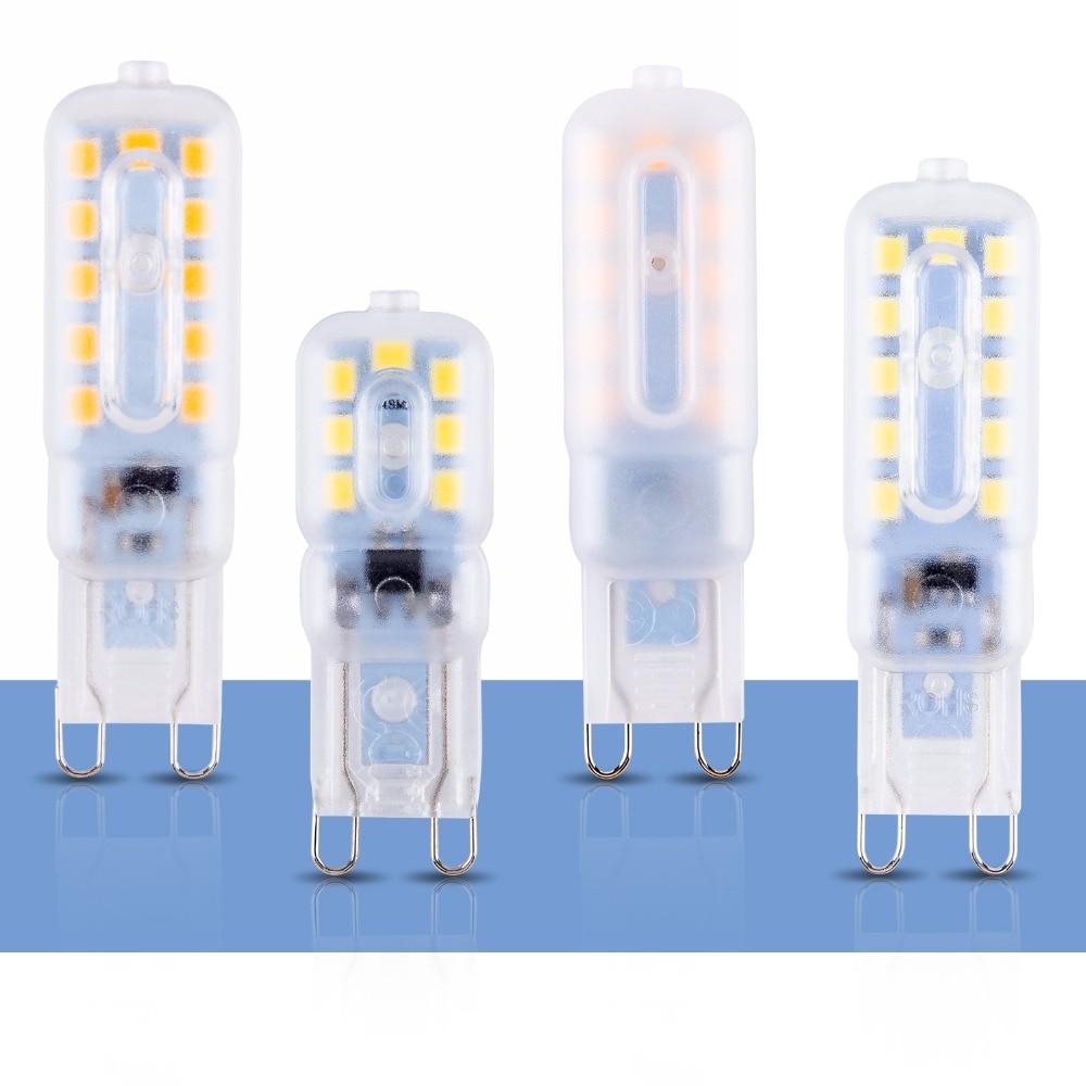 Chandelier LED Lamp G9 Led Bulb 220V Corn Light Led G9 3W Ampoule ...