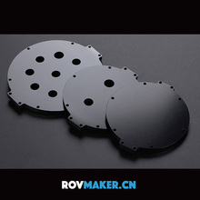 ROVMAKER Aluminum Alloy Seal Cabin Cover Underwater Robot Sealed Hatch Canopies Accessories for AUV RC Robot Operated Vehicle