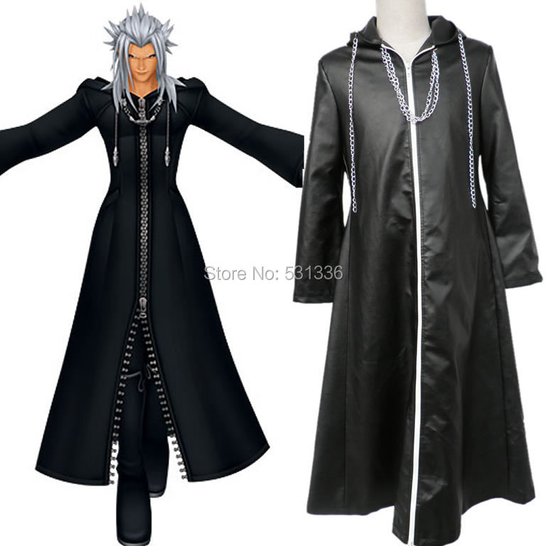 Kingdom Hearts Young Xehanort Organization XIII Roxas Cosplay Costume   Manufacturer Direct Supplier top quality