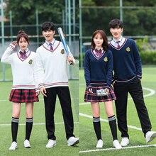 School uniforms, British students, junior high school autumn and winter classes, JK uniforms