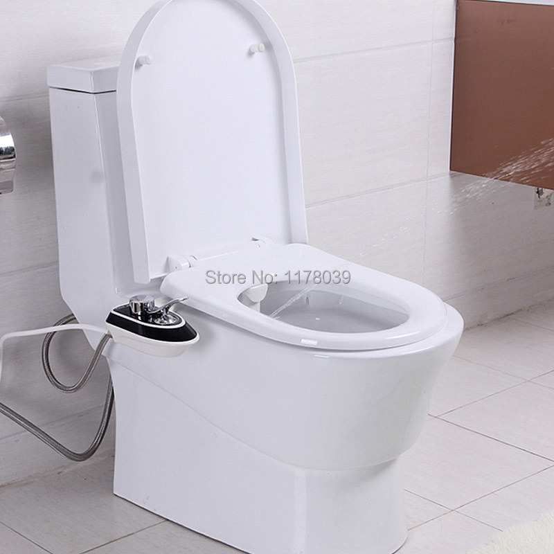 Permalink to Smart Toilet Seatbidet,No electricity Bidet Shower Female private parts,Buttocks/Ass  ABS flusher,Free Shipping J16661