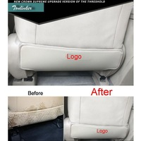 Cover Case Stickers For Toyota Series 2009 17 Car Styling 2 PCS PU Leather Interior Rear