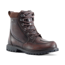 Motorcycle Leather Boots Men Waterproof Moto Boots Vintage Outdoor Motocross Off-Road Motorcycle Shoes Riding Biker Boots