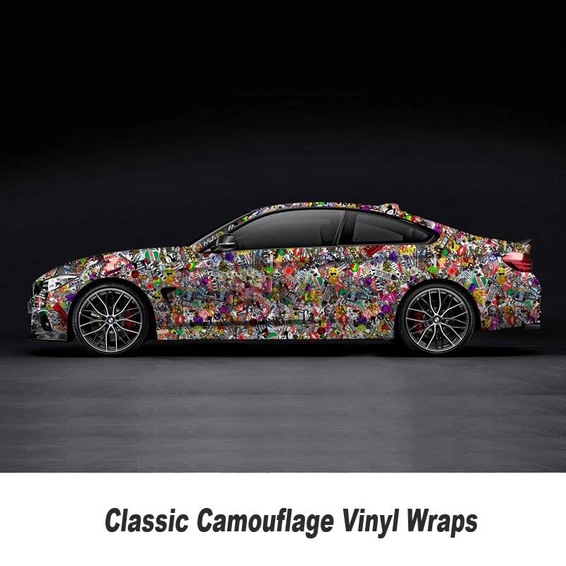 Bomb Vinyl Sticker For Car wrapping Bomb graffiti Car Sticker Bomb vinyl wrap film For motorcycle 5m/10m/15m/20m/25m/30m