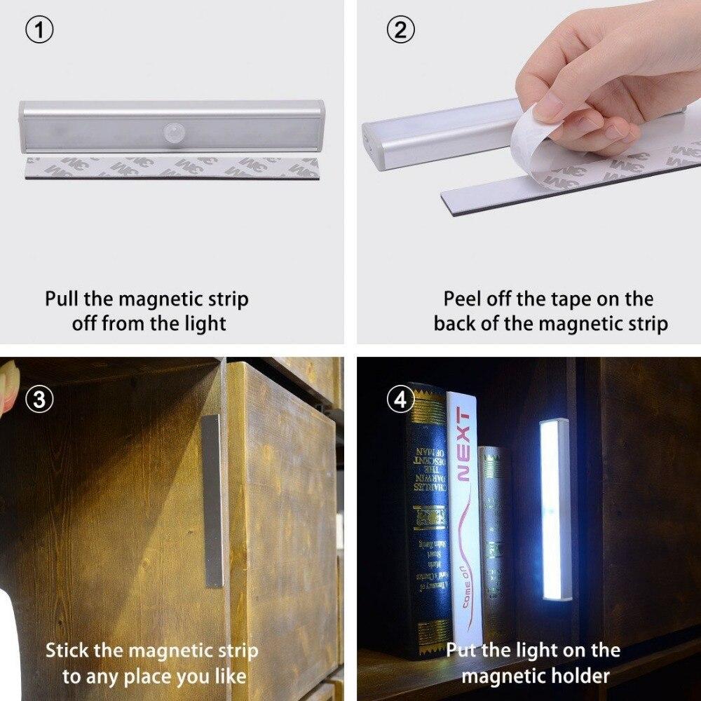 infravermelho sem fio sensor de iluminação armário