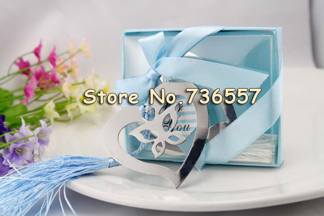 New Lovely Exquisite Wedding Gifts Heart Butterfly Monolithic Metal