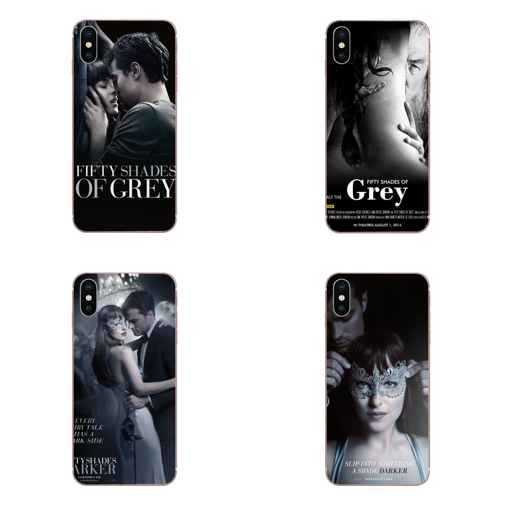 TPU Fashion Case For Xiaomi Redmi Mi Note 7 8 9 SE Pro Lite Go Play Fashion <font><b>50</b></font> Fifty <font><b>Shades</b></font> <font><b>Of</b></font> <font><b>Grey</b></font> <font><b>Sexs</b></font> image