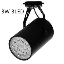 Free shipping energy saving 3W high power LED track lamp with brand LED for retail lighting spotlight led lamp flashlight