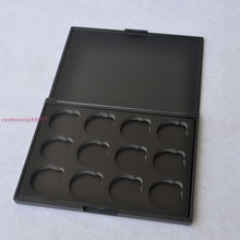 12 Holes 26mm size Empty Magnetic Eye shadow Pigment Palette Press Your Own Makeup without eyeshadow tins