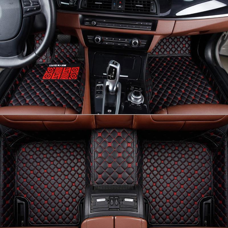 car floor mats for Alfa Romeo Giulia Stelvio 2017 car styling accessories automobile foot covers Car carpet