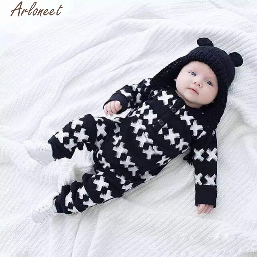 ARLONEET Baby Boy Clothes Winter 2017 1Set Baby Boys Girls Kids Romper Clothes Outfits P30 Dec28