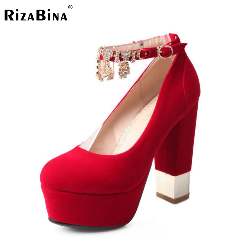 ФОТО women high heel shoes platform lady Zapatos Mujer footwear sexy brand spring fashion heeled pumps heels shoes size 34-39 P17067