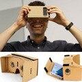 Google Картон VR Коробки DIY Виртуальная Реальность 3D Очки Магнит Коробка Контроллер 3D Горячие Продажи И Высокое Качество
