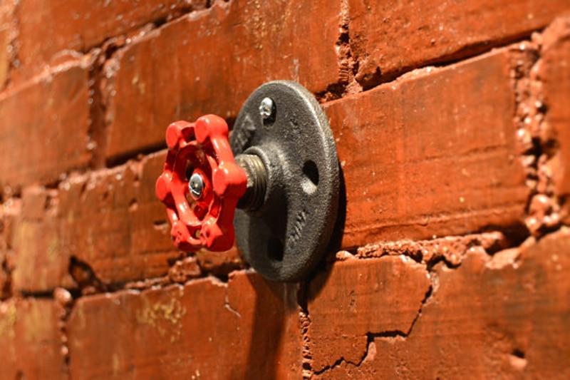 Vintage Industrial Pipe Wall Hook Interior Decor Women