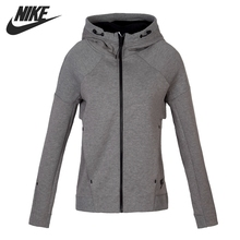 Original New Arrival NIKE TECH FLEECE FZ HOODIE Women's Jacket Hooded Sportswear(China)