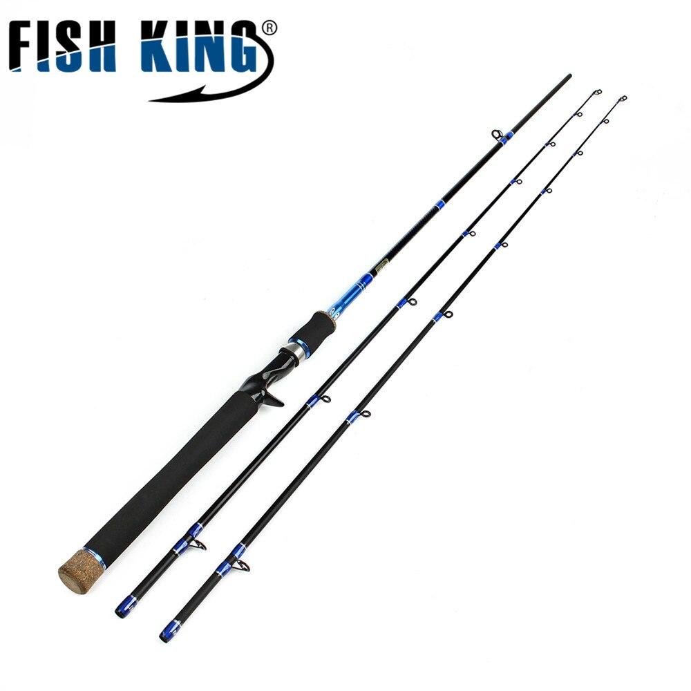 FISH KING Saabumine 99% Carbon 2.1m Hard 2 jagu M ML Lure kalavaru - Kalapüük