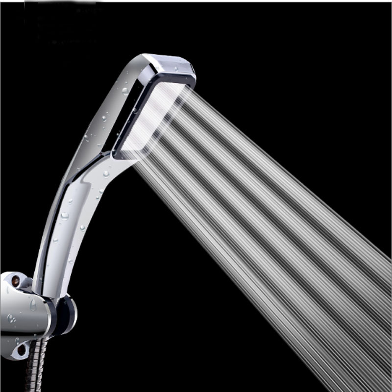 pvivlis shower head rainfall 4 kinds of bathroom hand shower square high pressure handheld spa