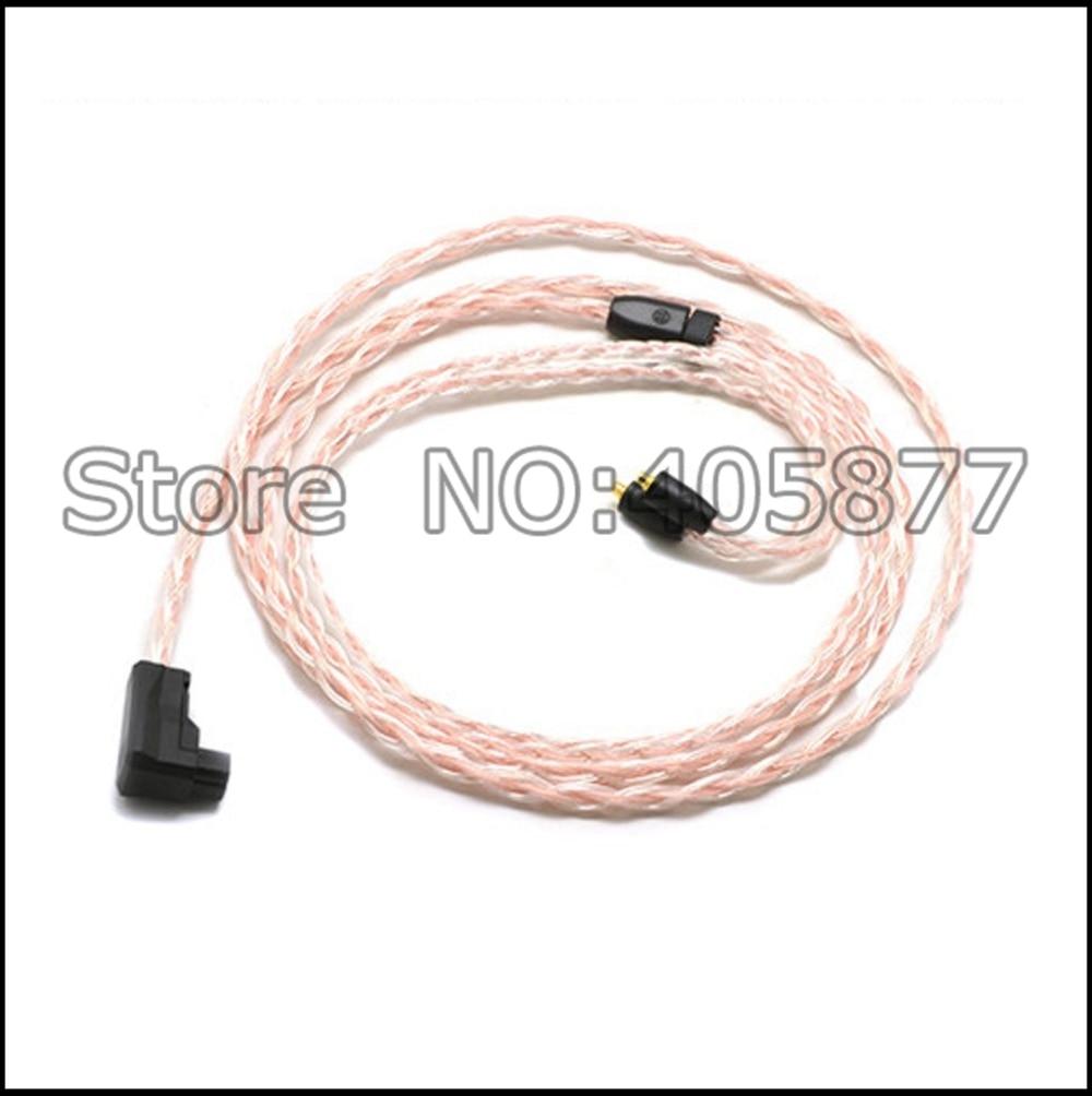 RSA/ALO to SE846 plugs 5N pure copper OFC Cable For SE215 SE315 SE425 SE535 SE846 Headphone cable rolsen rsa m502