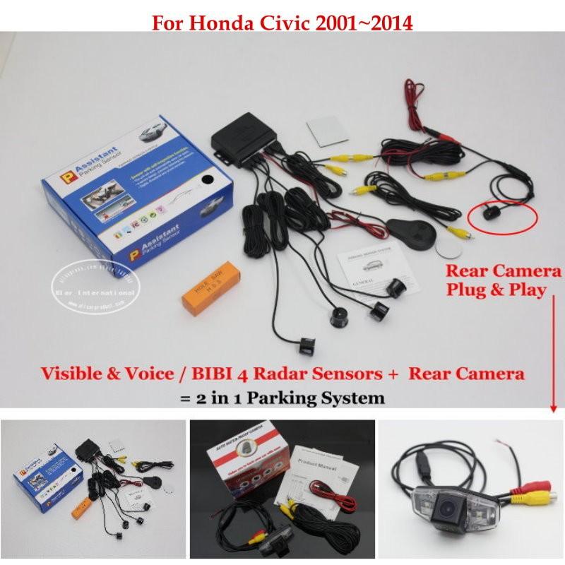 Honda Civic 2001~2014 parking system
