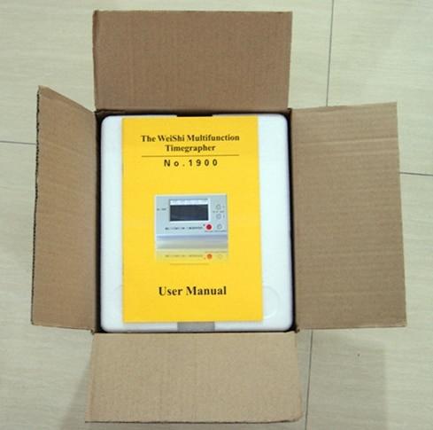 Weishi Mechanical Watch Timing Tester Machine Multifunction Timegrapher NO. 1900 - 5