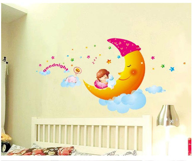 cute cartoon skyrim bedroom decoration crystal wall stickers for rh aliexpress com Rooms with Red Walls Living Room Painting Wall Art