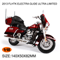 Motorcycle Models HD 2013 FLHTK ELECTRA GLIDE ULTRA LIMITED 1:18 scale Alloy Heavy motorcycle model Collection Gifts