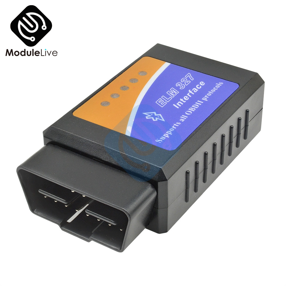 Digimotor Real ELM327 V1.5 Bluetooth OBD2 ELM 327 In 1.5 OBDII Code Reader Diagnostic Tool Mini Scanner OBD 2car Diagnostic Tool