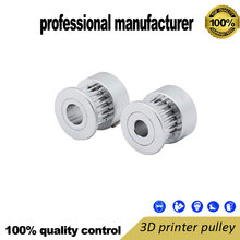 GT2 3D printer pulley alloy synchronous belt pulley for 3D printer use at good price and fast delivery wholesale 3d printer synchronous gt2 belt for reprap ultimaker other printer 1m length free shipping