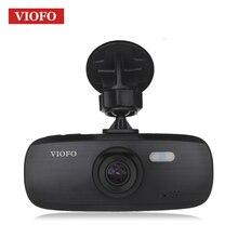 VIOFO Видеорегистраторы для автомобилей оригинальный G1W-S Модернизированный HD 1080 P регистраторы супер конденсатор Novatek96650 видеокамера IMX323 автомобиля регистраторы Камера dvr