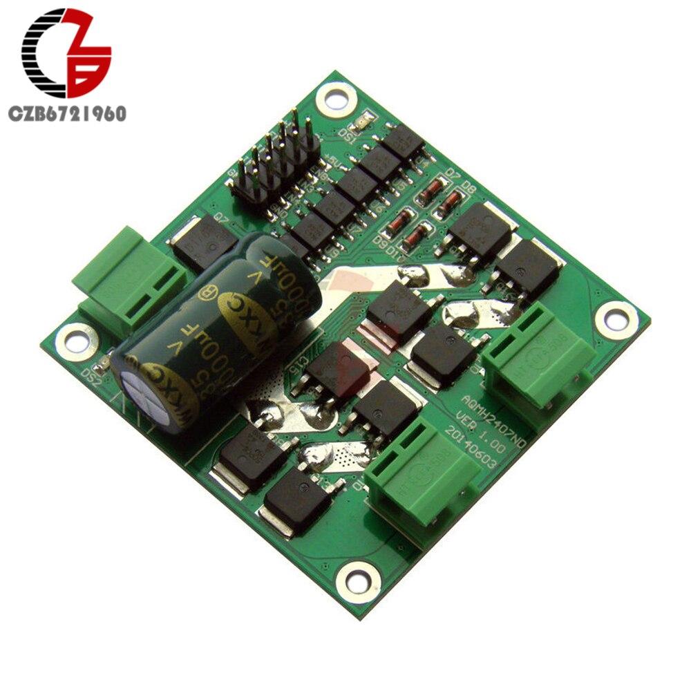 12V/24V 7A 160W Dual DC motor driver module / board H-bridge L298 logic 12v 24v 7a 160w dual dc motor driver module board h bridge l298 logic