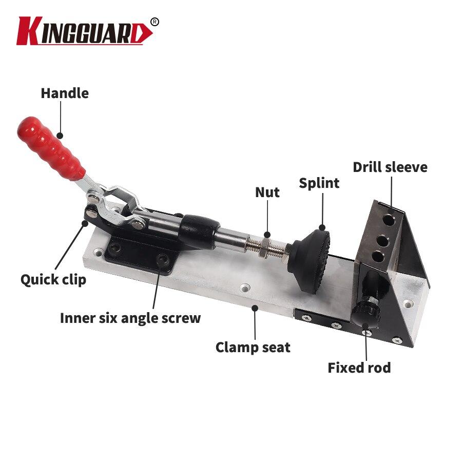 Sistema de kit de carpintería de guía de carpintería, herramientas - Broca - foto 4