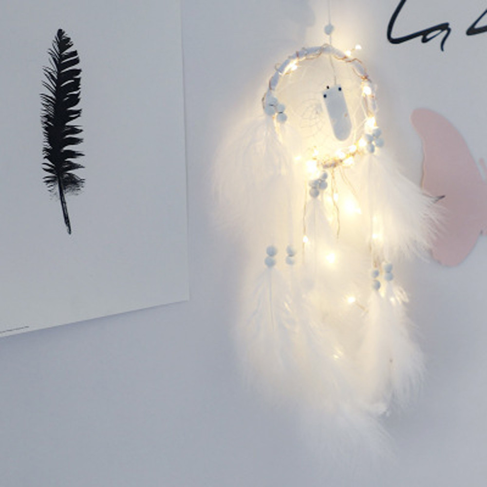 Home Decor LED Light Dreamcatcher 2 Meter 20LED Lighting Girl Room Bell Bedroom Romantic Decoration light decoration chambre
