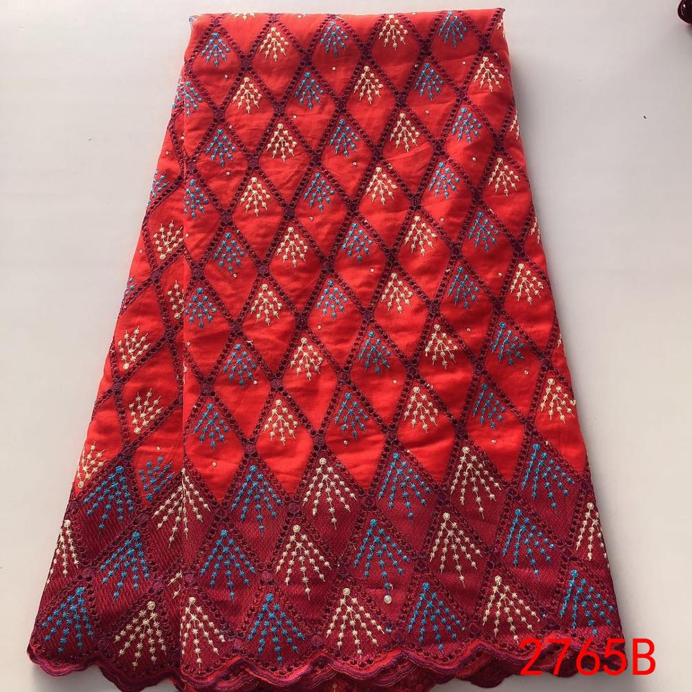 2019 African Dry Lace Fabric,New Swiss Voile Lace In Switzerland,Swiss Voile With Stones For Women Dresses KS2765B