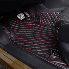 цены fit For Nissan Qashqai J11 2014  2015 2016  2017 2018 Accessories Interior Leather Carpets Cover Car Foot Mat Floor Pad 1set