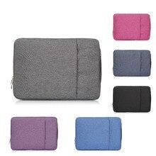 حقيبة لابتوب جديدة لاجهزة ابل ماك بوك اير ، برو ، ريتينا ، 11,12 ، حقيبة لابتوب 13,15 انش. حقيبة جديدة من قماش الدنيم Air 13.3 بوصة برو 13.3