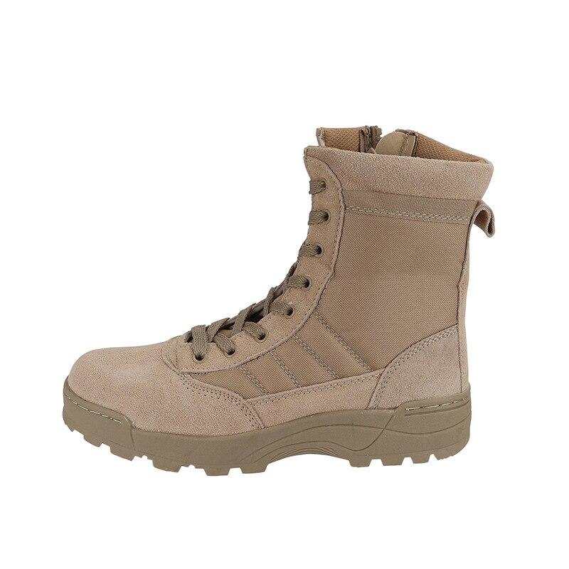 Men Hiking Shoes 2017 New Outdoor Travel Wear Lightweight Tactical Boots Sports Climbing Mountain Waterproof Trekking Shoes