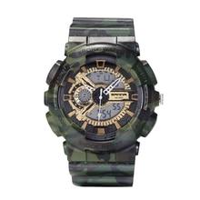 Multifunción LED Reloj Ejército Reloj Digital Hombres Deportes Reloj Masculino Impermeable Reloj Militar del relogio masculino digitales
