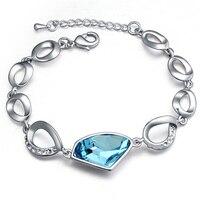 Hoge Kwaliteit Unieke Ontwerp Mode Armband Oostenrijkse Crystal Temperament Pulseiras Voor Vrouwen Sieraden Geschenken Bruiloft Fijne Bijoux