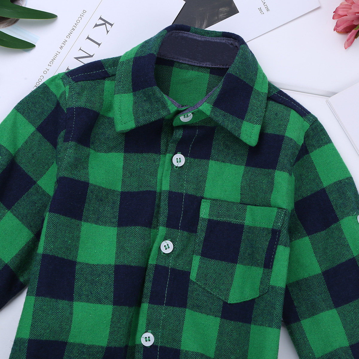 4e09cf74ef834 US $10.49 40% OFF|Baby Boy Clothes Bodysuit Long Sleeve Winter Infantil  Bebe Boys Clothes Plaid Button up Shirt Bodysuits for First Birthday  Party-in ...