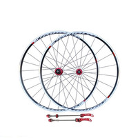 road bike wheels V brake road bike wheelset high strength flower drum wheel set/700c road bike wheel set front 20H rear 24 holes