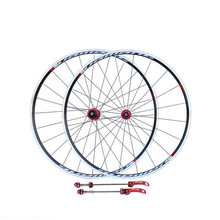 road bike wheels V-brake road bike wheelset high strength flower drum wheel set/700c road bike wheel set front 20H rear 24 holes