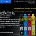 4 Color 1 Unidades compatible Epson 133 Ink cartucho t1331 para tx430w/N11/nx125/nx130/nx230/nx420 /nx430 impresora