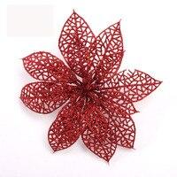 5 Pcs Christmas Decorative Flower Christmas Tree Decoration Artificial Flowers