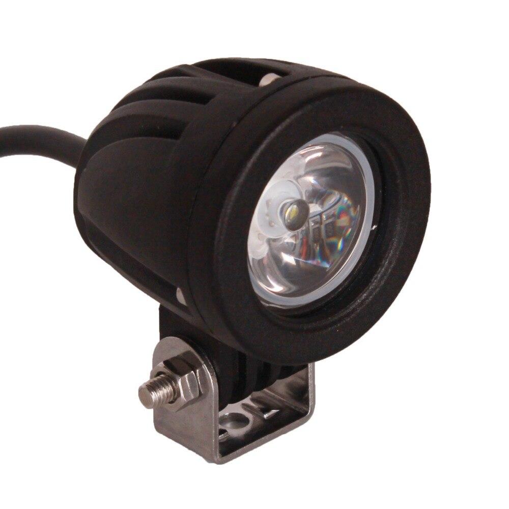 10 Вт светодиодный свет offroad 12 В 24 В Авто Грузовик ATV мотоцикла Прицепы Велосипедный Спорт 4x4 4WD туман светодиодные лампы cree чипы DRL фар