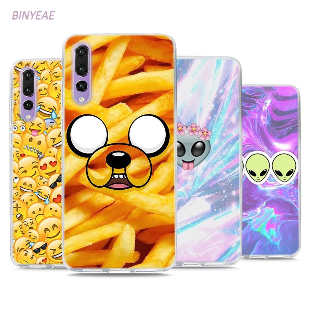 BINYEAE Boss Bitch mode on pink please Emoji art Style Clear Soft TPU Phone Cases for Hu ...