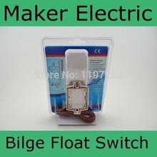 DC 12V 24V Marine Float Switch Flow Sensor For Bilge Pumps – Automatic