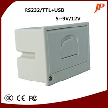 Free shIpping thermal panel printer all in POS driving recorder medical equipment printer with rs232 ttl printer